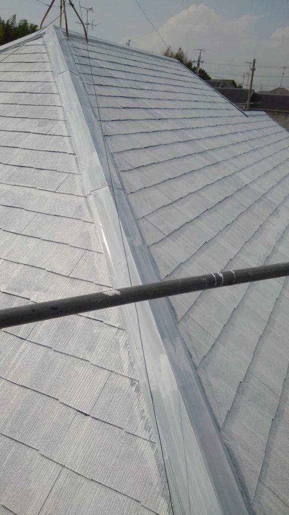 屋根高反射プライマー塗装