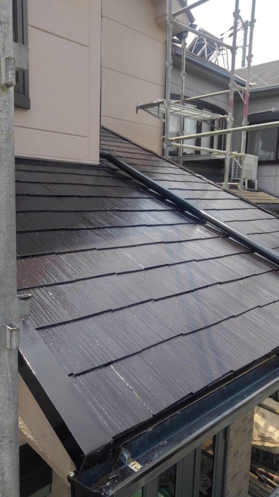 屋根タフグロスコート塗装2